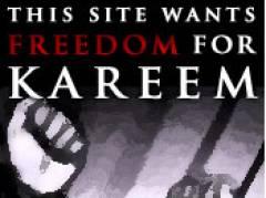 Freiheit für Kareem !