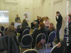 """Studenten des Projekts """"Schlosspark Revisited"""""""