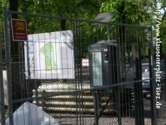 Spenden-Automat am Schloßpark