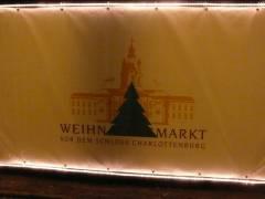 Der Weihnachtsmarkt!