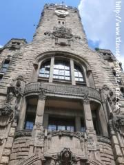 Turm des Rathauses Charlottenburg