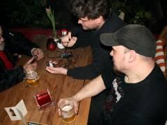 Aufnahme des Interviews Little Stage - Bernd, Icke & Marcel