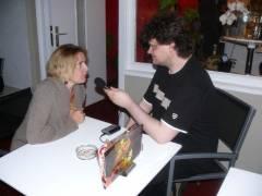 Anouschka im Interview mit mir..