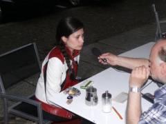 Sonia im Interview mit Martin