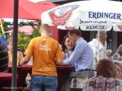 """Das Team von Stadtrat Gröhler bei den """"verkauften"""" Bürgern"""