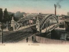Alte Schloßbrücke etwa 1903 - Bildquelle Wikipedia