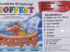 Einladung zum Hoffest