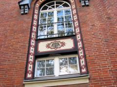 Fenster der Schule am Schloss in Charlottenburg