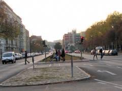 Fußgängerübergang Spandauer Damm an der Schloßstraße