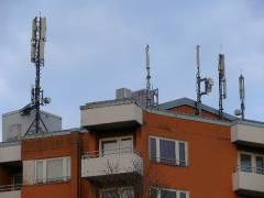 Antennenwald am Kiez