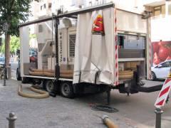 Mobile Großleistungs-Sauganlage zur fachgerechten Asbestsanierung