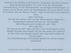 Erinnerungen aus Charlottenburg