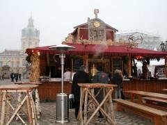 """""""Russischer Stand"""" auf dem Weihnachtsmarkt vor dem Schloß - Dezember 2007"""