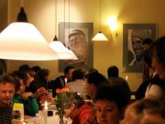 """Ausstellung """"Menschen im Orient"""" von Werner Tschink."""