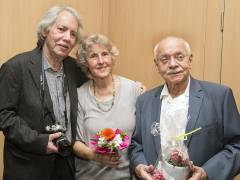 Eröffnung der Fotoausstellung von Ingelore Willing in der Galerie Hulsch / Foto © Frank Wecker