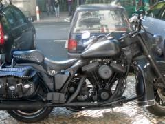 """""""Harley"""" in der Nehringstraße"""