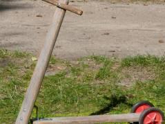 Tretroller im Ziegenhof - ein Klassiker
