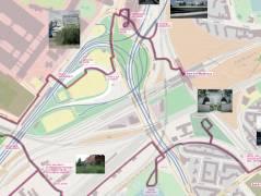 Karte des Rundwanderwegs / © OpenStreetMap-Mitwirkende  (www.openstreetmap.org) - mit freundlicher Genehmigung von Bertram Weisshaar