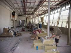 Bauarbeiten in den Zooterrassen (Bahnhof Zoo) / Foto © Frank Wecker