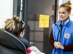 Kerstin Milleder hilft Obdachlosen in der Bahnhofsmission. / Foto © Frank Wecker
