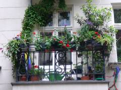 Hoffnung und Aussichten - Ein Balkon im Kiez (Sommer 2007)