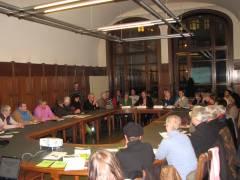 """Veranstaltung im Rathaus Charlottenburg zum """"richtigen"""" Umgang mit Straßenbäumen vom 24.01.2013"""