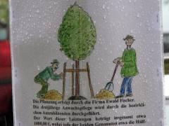 Baumspende - organisiert vom Berliner Rundfunk