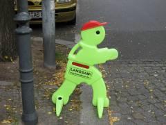"""Benni-Brems"" soll mahnen!"