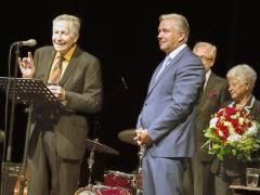 Otfried Laur und der frühere Regierende Bürgermeister und Kultursenator Klaus Wowereit / Foto © Frank Wecker