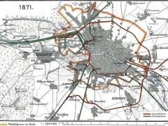 Eisenbahnnetz Berlin 1871 / Bildquelle Wikipedia (gemeinfrei)