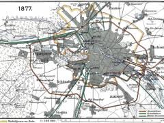 Eisenbahnnetz Berlin 1877 / Bildquelle Wikipedia (gemeinfrei)