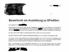 Bewerbung - Quelle / http://del.yks.org/wp-content/uploads/2008/07/bewerbung_als_spedition.pdf