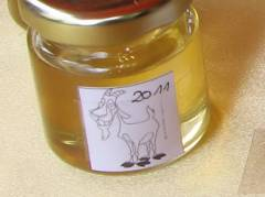 Erster Honig der Sorte Ziegenhof 2011