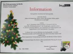 Die Berliner Polizei beteiligt sich an der Berlin Christmas Biketour