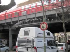 Unterführung der Bleibtreustraße