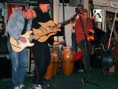 Sommer-Blues-Fest im Kiez - Icke und Fränk mit Gerd und Oliver Dähmcke an den Kongas