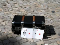 Sommer-Blues-Fest im Kiez - der Zauberkoffer