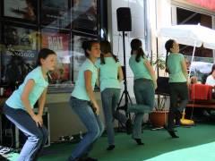 Sommer-Blues-Fest im Kiez - Showdance der Ecole de danse