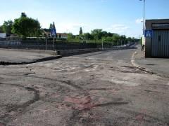 Abriss und Neubau der Spandauer-Damm-Brücke - Bauarbeiten/Sperrungen
