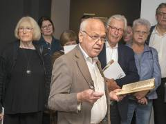 "Ralph Jentsch kuratiert die Ausstellung ""George Grosz in Berlin"" im Bröhan-Museum / Foto © Frank Wecker"