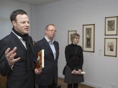 Führung im Bröhan-Museum durch die Werkschau von Hans Christiansen / Foto © Frank Wecker