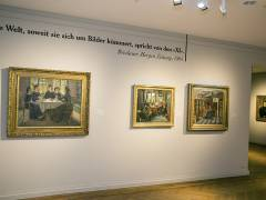 "Sonderausstellung ""Skandal! Mythos! Moderne! Die Vereinigung der XI in Berlin"" im Bröhan-Museum / Foto © Frank Wecker"