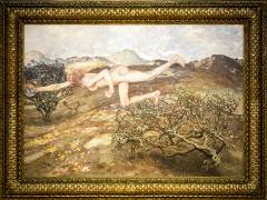 """""""Skandal! Mythos! Moderne! Die Vereinigung der XI in Berlin"""" im Bröhan-Museum - """"Die Windsbraut"""" von Martin Brandenburg, ausgestellt 1899 / Repro Frank Wecker"""