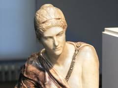 """""""Skandal! Mythos! Moderne! Die Vereinigung der XI in Berlin"""" im Bröhan-Museum - Die 1895 ausgestellte Marmorversion von Max Klingers """"Kassandra"""" / Repro Frank Wecker"""