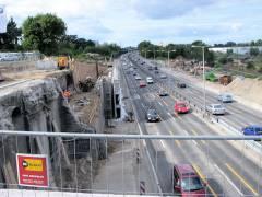 Abriss und Neubau der Spandauer-Damm-Brücke - Bauarbeiten
