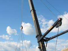 Abriss und Neubau der Spandauer-Damm-Brücke - Abriss des nördlichen Teils der Brücke