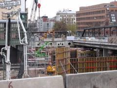 <span>Abriss und Neubau der Spandauer-Damm-Brücke - Neubau des nördlichen Teils der Brücke</span>