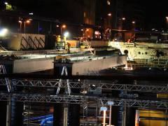 Abriss und Neubau der Spandauer-Damm-Brücke - Neubau des nördlichen Teils der Brücke