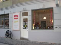 Die Pyramide Buchhandlung in der Danckelmannstraße
