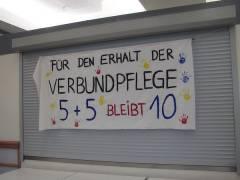 Protestplakat auf der SPD Veranstaltung - 23.04.2008
